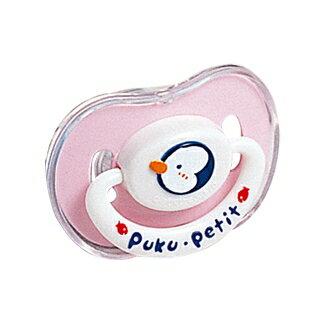 『121婦嬰用品館』PUKU 拇指型浮雕安撫奶嘴(較大) - 粉 0
