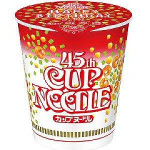 【數量限定】NISSIN CUP NOODLE日清醬油杯麵(77g)  45週年紀念版 *賞味期限:2017/02/28*