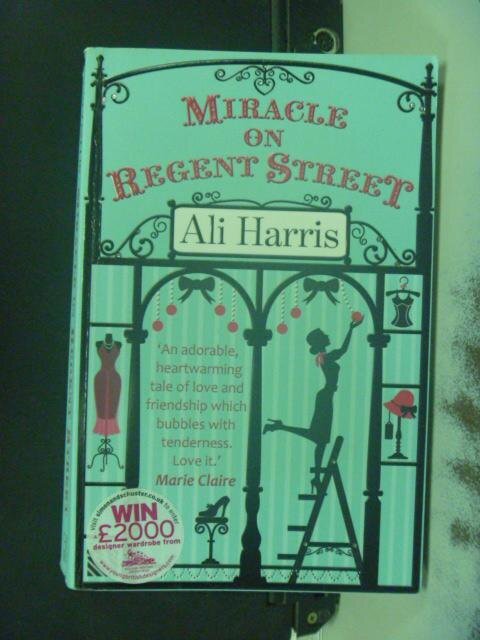 ~書寶 書T2/原文小說_NBZ~Miracle on Regent Street_Ali