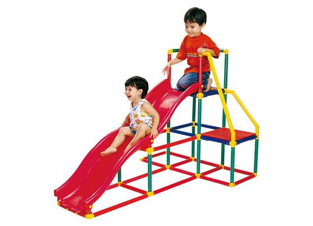 【智高 GIGO】我的健身房(雙滑梯組) #3604-CN