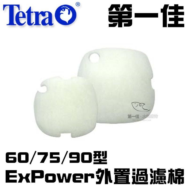 [第一佳 水族寵物] 德國Tetra德彩 ExPower外置過濾棉(三片入)60/75/90型 TF01