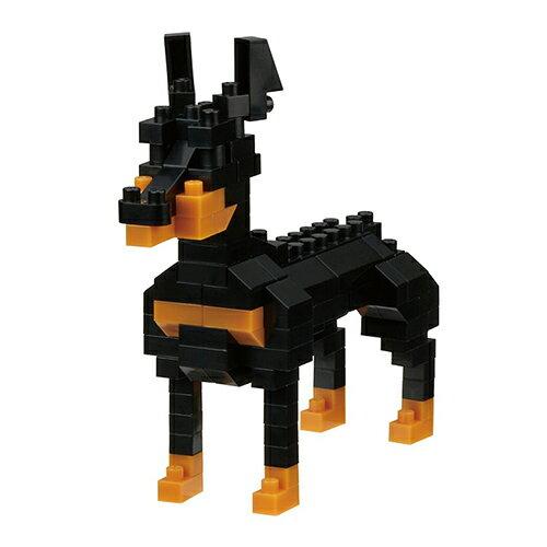 《NanoBlock迷你積木》NBC-255杜賓犬