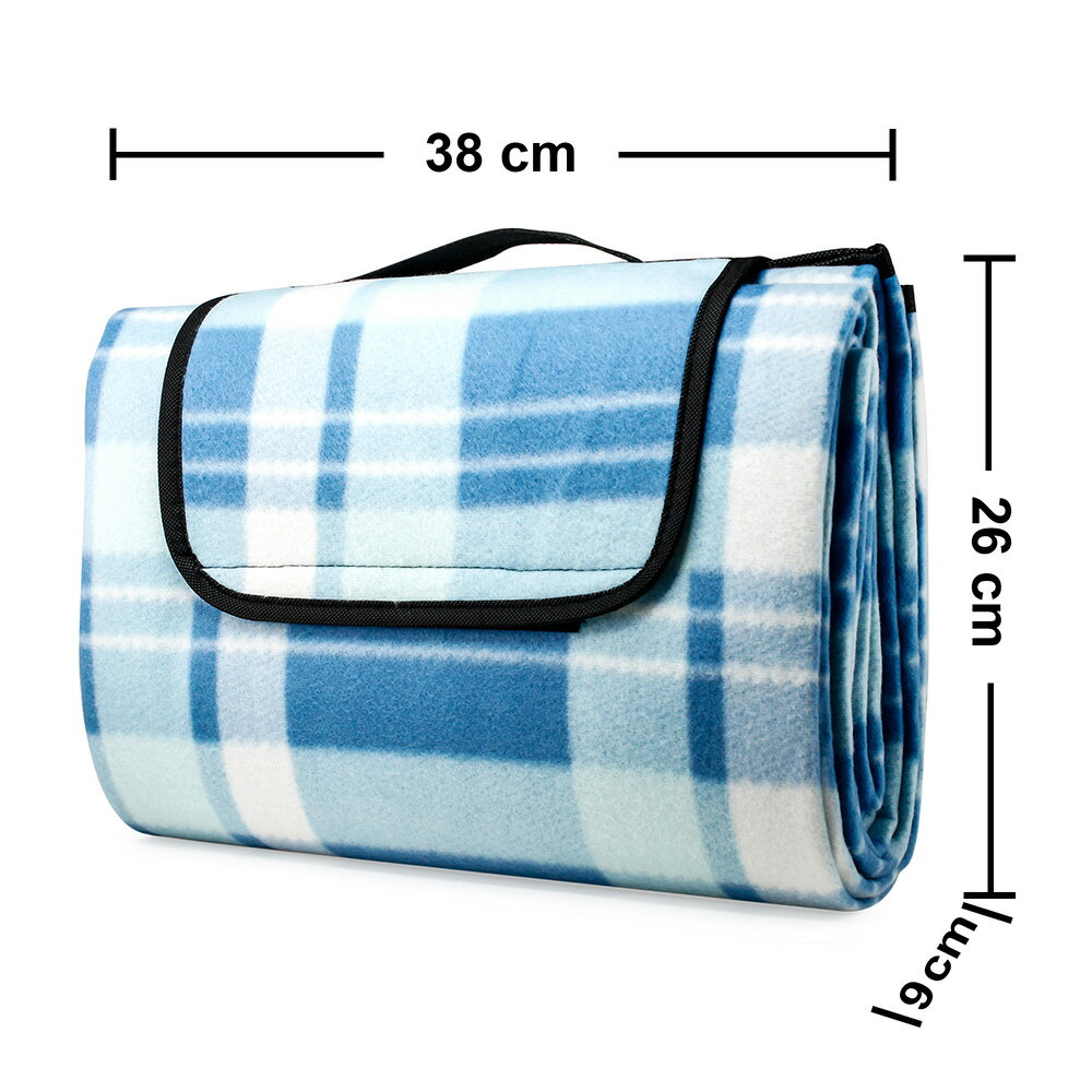 Outdoor Waterproof Picnic Blanket For Foldable Beach Mat Sleeping Pads Camping Hiking Rug 7