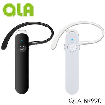 [NOVA成功3C]QLA BR990 1對2雙配 藍牙耳機(白)喔!看呢來