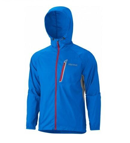 Marmot 美國   男款 Trail Wind 輕量防潑水連帽風衣外套   秀山莊(M51160)