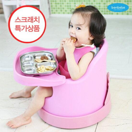 【贈收納袋】安琪兒【Bonbebe】360度歡樂多功能幫寶椅-藍色 1