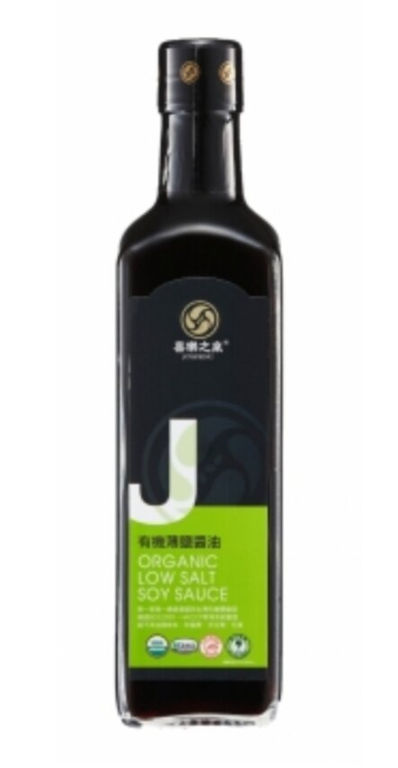喜樂之泉有機薄鹽醬油500ml