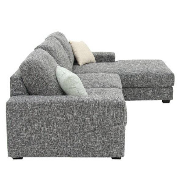 ◎布質左躺椅L型沙發 GRAND LGY NITORI宜得利家居 2