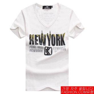DITION SHOP NEW YORK城市麻花短T 韓系情侶