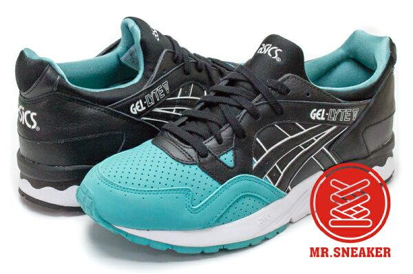 ☆Mr.Sneaker☆ASICSTigerGEL-LYTEVH5V2L8990復古跑鞋綠色黑色男段