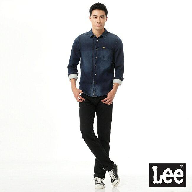 Lee 101+ 牛仔長袖襯衫-男款 3