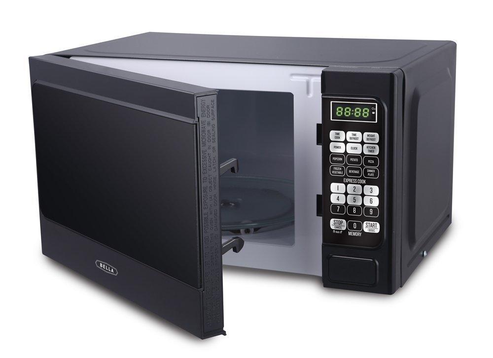 Bella Microwave Oven 700 Watt Compact Digital 0.7 Cubic Foot 1