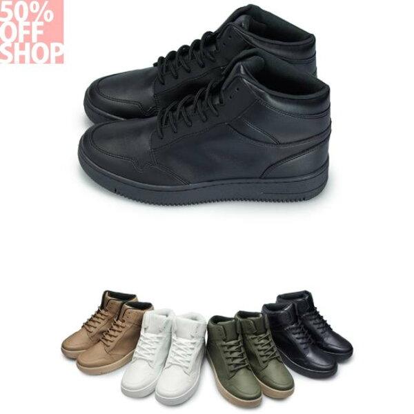 50%OFFSHOP靚男靚女街頭運動高筒鞋(4色)【1CK26FUFA】