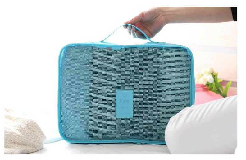 ★週年慶★《SG0122》新款7色優惠!六件式~旅行 / 旅遊 / 出國 / 自助旅行 / 出差 收納袋 / 收納包 / 旅行袋 / 整理袋 8