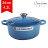 Le Creuset 新款圓形鑄鐵鍋 湯鍋 燉鍋 炒鍋 24cm 4.2L 馬賽藍 法國製 - 限時優惠好康折扣