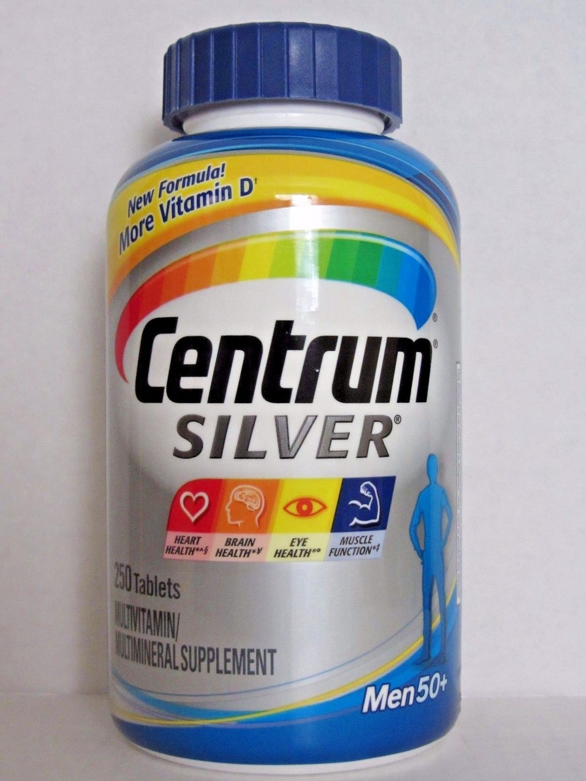 Centrum Silver Multivitamin Multi Mineral Supplement For Men 50 250 Tablets Sold By Beauty Me Rakuten Com Shop