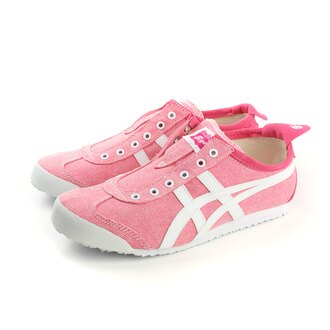 Onitsuka Tiger MEXICO 66 SLIP-ON 運動鞋 女鞋 粉紅色 no260