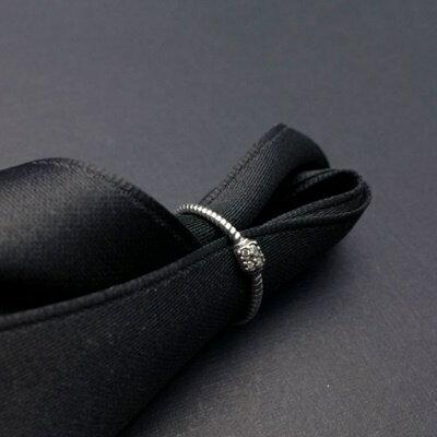 925純銀戒指銀飾-經典大方雅致柔美生日情人節禮物女飾品73ic27【獨家進口】【米蘭精品】