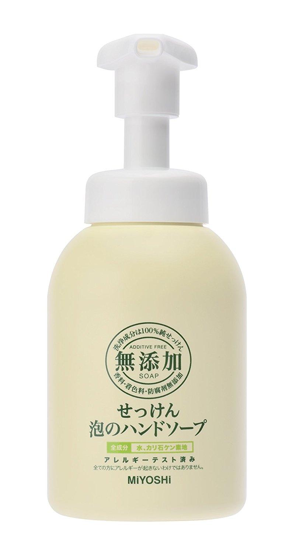 日本 MiYOSHi 環保 無添加 泡沫洗手乳 350ml 2