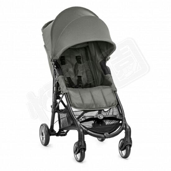 Baby jogger - City mini zip 輕旅行升級版 - 鋼鐵灰【贈杯架】【悅兒園婦幼生活館】