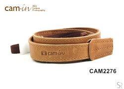 [滿3千,10%點數回饋]【Cam.in】潮流相機背帶 型號:CAM2276 顏色:棕色