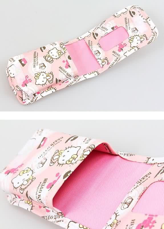 X射線【C765496】Hello Kitty 手機袋(粉),美妝小物包 / 媽媽包 / 面紙包 / 化妝包 / 零錢包 / 收納包 / 皮夾 / 手機袋 / 鑰匙包 2