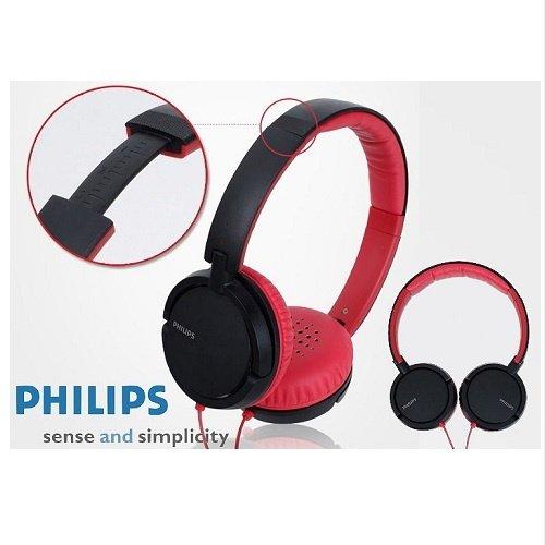 《省您錢購物網》福利品~飛利浦PHILIPS輕量型超重低音頭戴式耳機 (SHL5000/98)