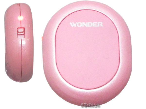 《省您錢購物網》 全新~旺德 溫心暖手寶 (WD-8520W)~白、粉紅色