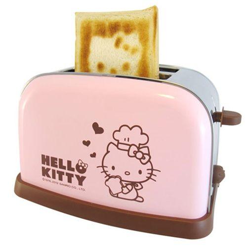 《省您錢購物網》全新~Hello Kitty烤麵包機(OT-526)送神奇魔力 去塵膠 1入