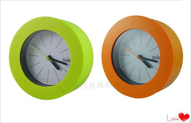 《省您錢購物網》近全新福利品~【聲寶 SAMPO】聲寶粉彩圓形鐘 (PY-Z1106ML)