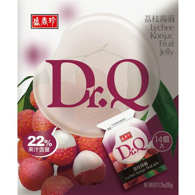 《盛香珍》Dr. Q 荔枝蒟蒻 265gX10包入(箱)