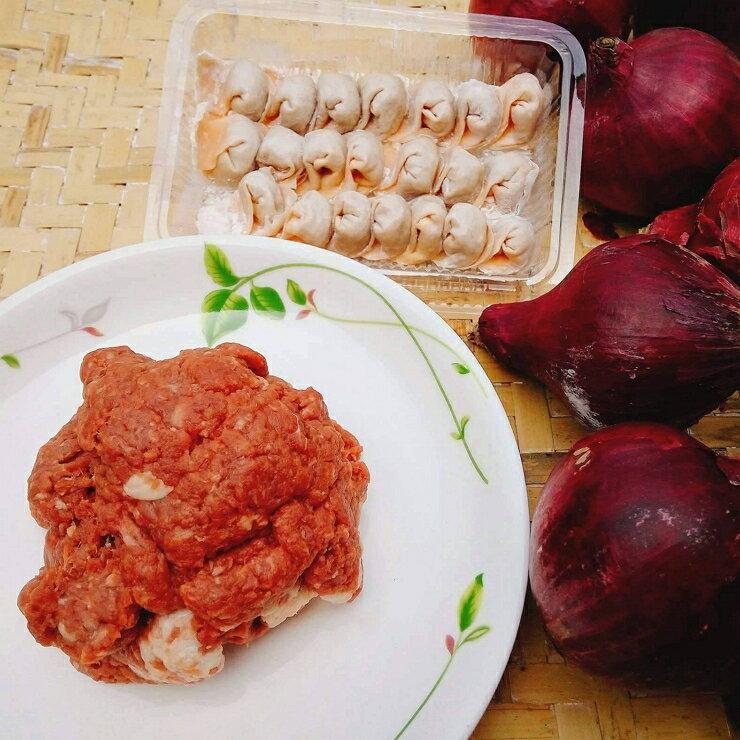 山珍海味無鹽寶寶餛飩(15顆,110g±5%/盒)番茄皮洋蔥牛肉(澳洲牛肉) 海菜皮鮮魚(雪斑魚)