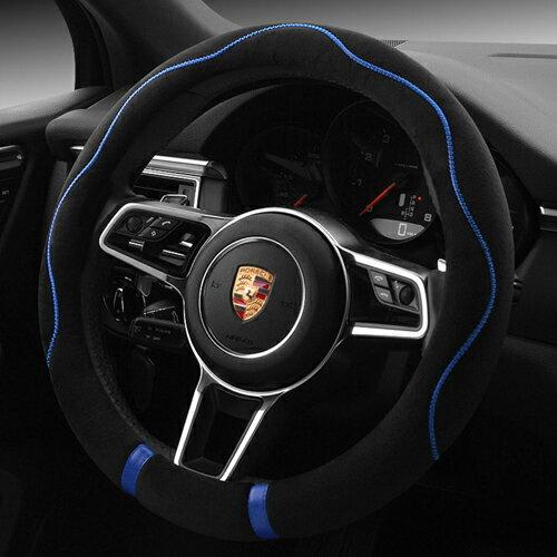 A0172 花朵線方向盤套 方向盤護套 方向盤 真皮 PU BMW BENZ VW TOYOTA SUBARU 沂軒精品