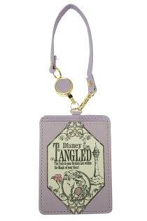 X射線【C067248】長髮公主Rapunzel樂佩伸縮票卡夾-素描,收納包悠遊卡套隨身包掛鍊名片套證件套