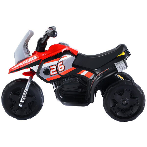 Costway: Costway 6V Kids Ride On Motorcycle Battery