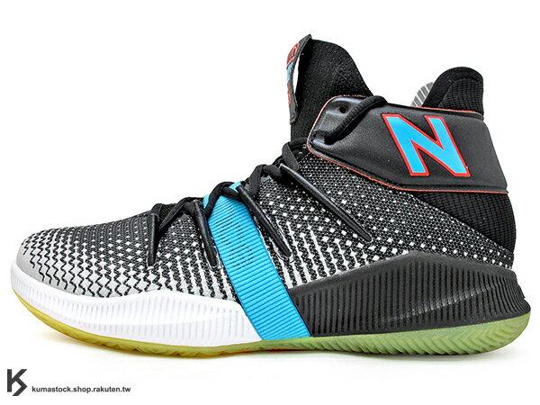 2019 最新 NBA 總冠軍 Kawhi Leonard 強力代言 NEW BALANCE OMN1S 黑灰白藍 全腳掌的 FUELCELL 緩震科技 MVP 籃球鞋 紐巴倫 小可愛 (BBOMNXBS) 1219NBA 0