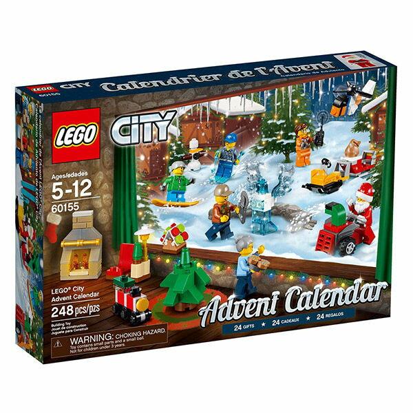 樂高LEGO 60155  CITY 城市系列 - 驚喜月曆 Advent Calendar - 限時優惠好康折扣