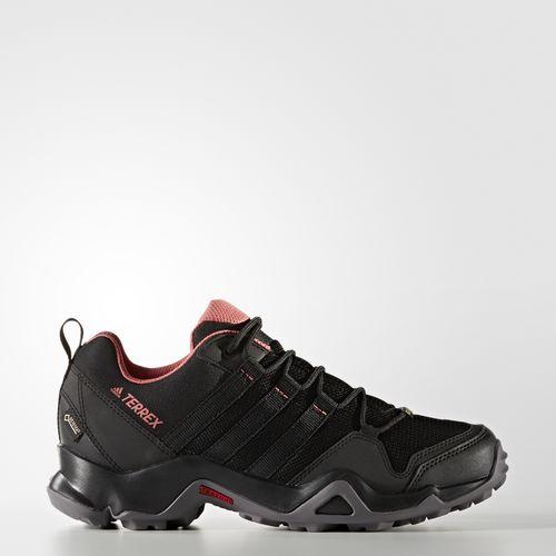 ADIDAS TERREX AX2R GTX GORE-TEX 女鞋 健走 登山 網布 透氣 舒適 黑 粉 【運動世界】 BB1990