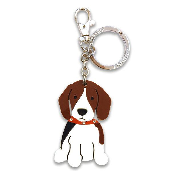 加拿大foufoudog鑰匙圈-BEAGLE小獵犬(比格犬)