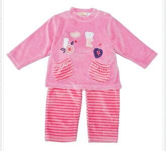 ☆Babybol☆女童冬裝保暖兩件套, 套裝包含(上衣,褲襪)【24110】 2
