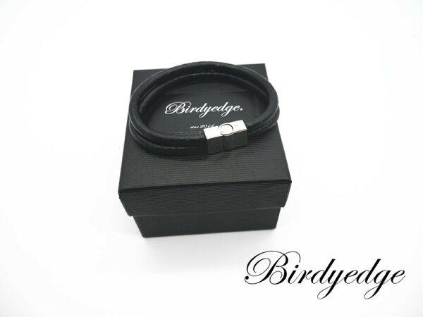 BIRDYEDGE品牌牛皮磁扣手環男女實體拍攝