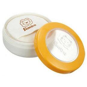 小獅王辛巴 超薄雙層造型粉撲盒(橘)【德芳保健藥妝】