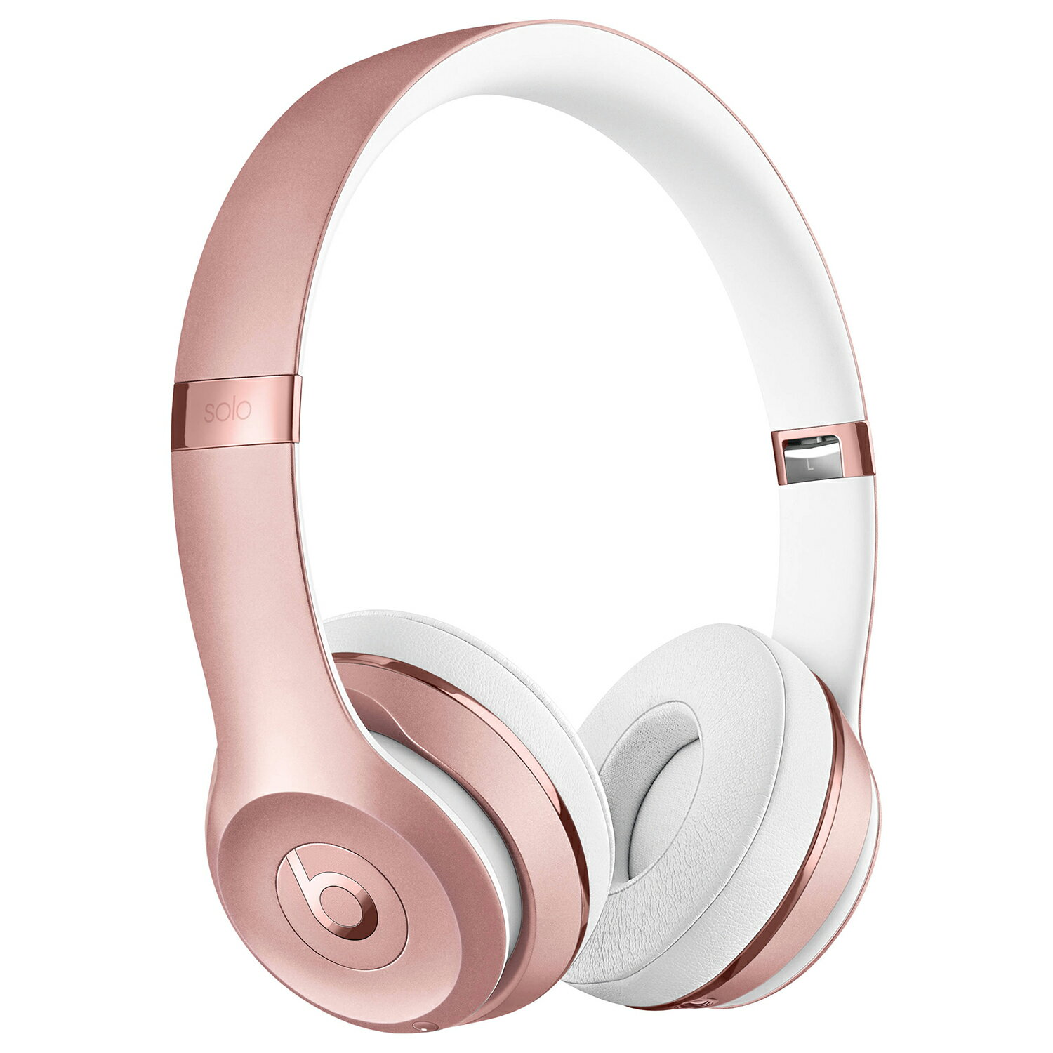 Beats by Dr Dre Solo 3 Wireless Bluetooth On-Ear Stereo Headphones - Rose Gold 0