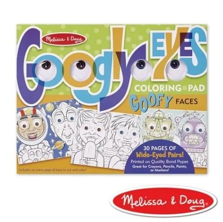 NANABABY:【美國瑪莉莎Melissa&Doug】大眼睛趣味繪圖本-逗趣臉孔#MD5169