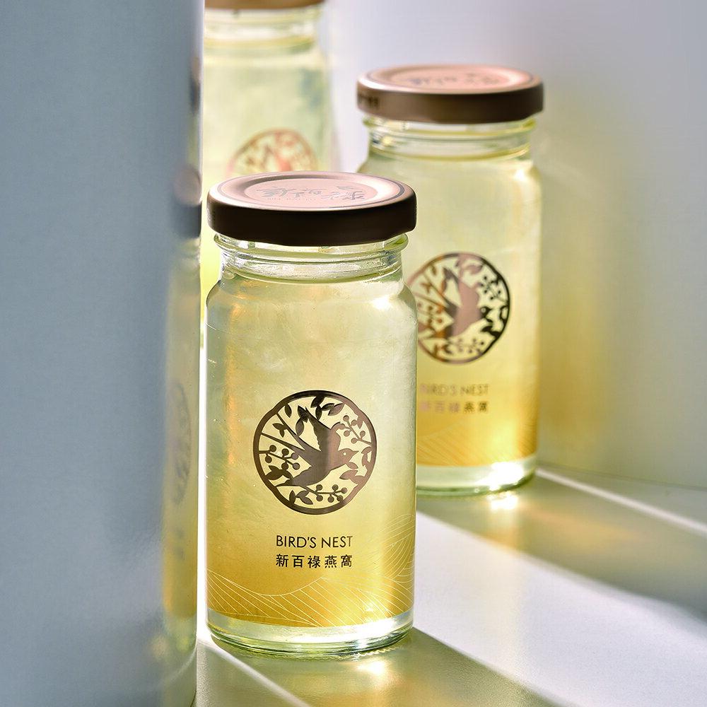 新百祿燕窩 臻品即飲燕盞禮盒 (135克X3入)純天然、無防腐劑的常溫食補優品