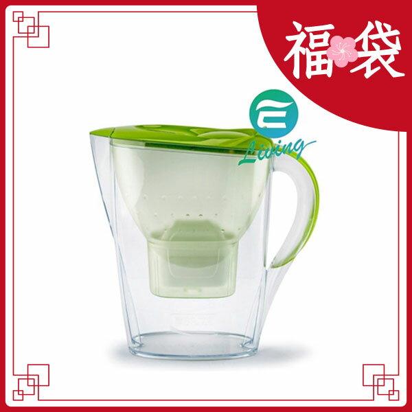 BRITA Marella XL 3.5L 濾水壺+濾心1個 綠色 #82819【超商取貨限購一組,無法與其他商品合訂】