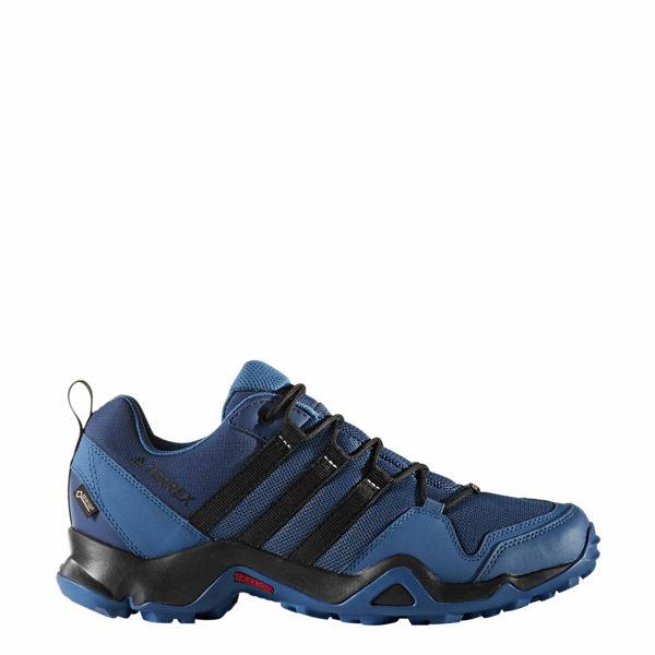 Adidas TERREX AX2R GTX 男鞋 登山 透氣 膠底 藍 黑 【運動世界】BB1986