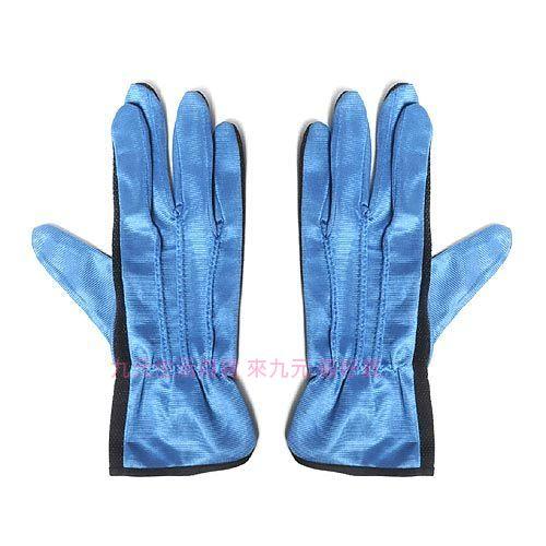 【九元生活百貨】絨布止滑手套/寶藍 機車手套 防滑手套