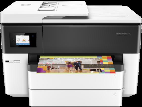 【二手機】HP OfficeJet Pro 7740 Wide Format All-in-One Printer A3噴墨傳真複合機