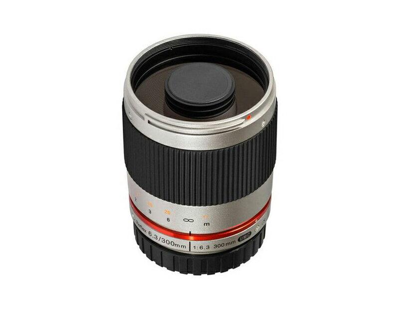 Samyang 鏡頭專賣店: 300mm /F6.3 反射鏡 銀色  for Canon EOS-M 義文公司貨